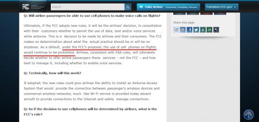 FCC को मोबाइल फोन नीति