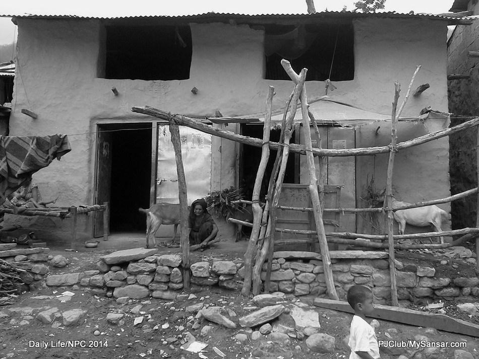 Life is hard for folks who live in remote Baliya village in Chisapani, Kailali. Photo: Subhadra Shree Rajbhandari