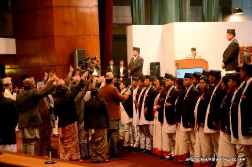 माओवादी मधेसी मोर्चाले बहिस्कार गरेको थियो आज, नाराबाजीको जिम्मा लिएका थिए राप्रपा नेपालका सभासद्हरुले