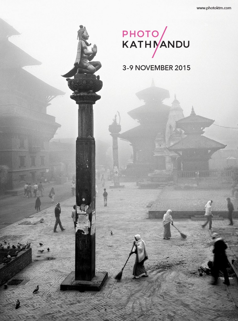 Photo Kathmandu poster Photo by Kevin Bubriski