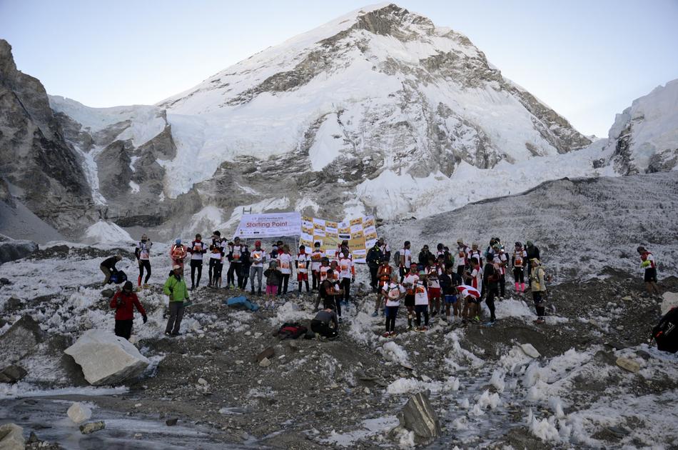 Starting Line Everest Base Camp