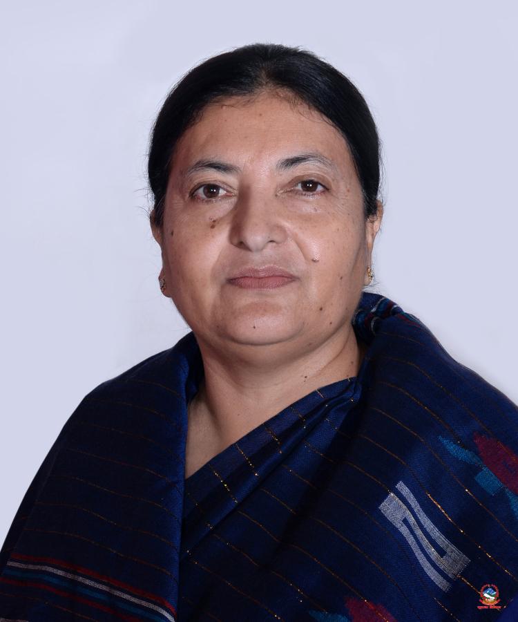 Presedent Bidhya Devi Bhandari