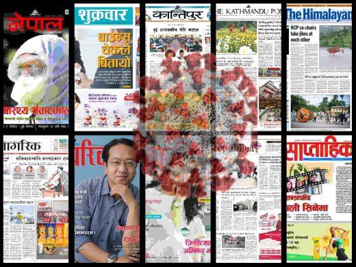 nepali media in coronavirus pandemic